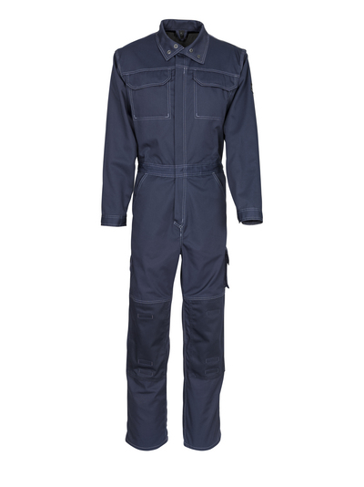 MASCOT® Akron - dark navy - Boilersuit with kneepad pockets, lightweight