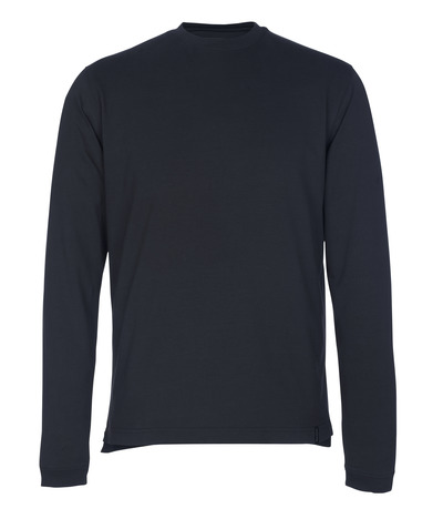 MASCOT® Albi - dark navy - T-shirt, long-sleeved, modern fit