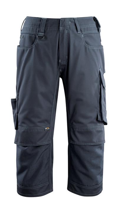 MASCOT® Altona - dark navy - ¾ Length Trousers with CORDURA® kneepad pockets, lightweight