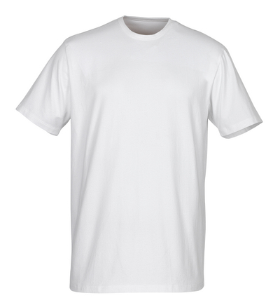 MASCOT® Argana - white* - Under Shirt with small V-neck and short sleeves, modern fit