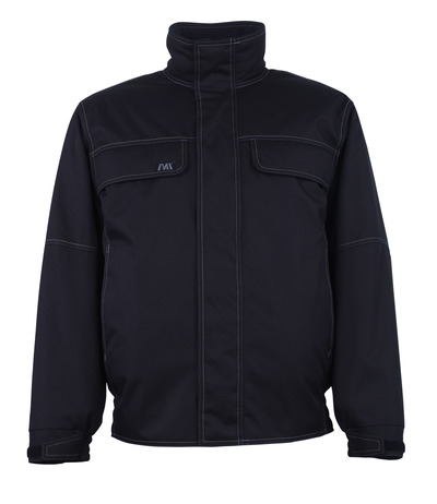 MACMICHAEL® Bahia - black* - Pilot Jacket with quilted lining, windproof