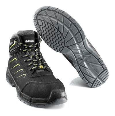 MASCOT® Bimberi Peak - black - Safety Boot S3 with laces