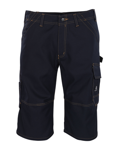 MASCOT® Borba - dark navy - ¾ Length Trousers, high durability