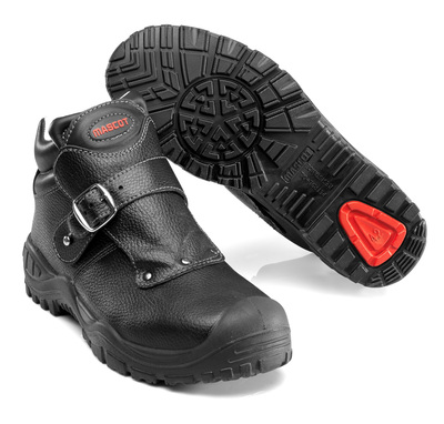 MASCOT® Boron - black - Safety Boot S3 with strap closure