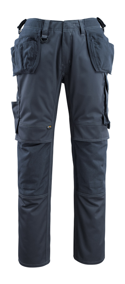 MASCOT® Bremen - dark navy - Trousers with CORDURA® kneepad pockets and holster pockets, high durability
