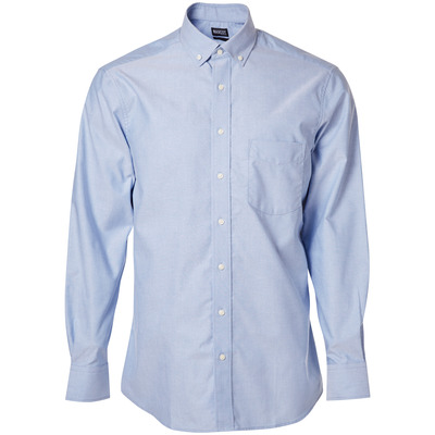 MASCOT® CROSSOVER - light blue - Shirt, Oxford, classic fit