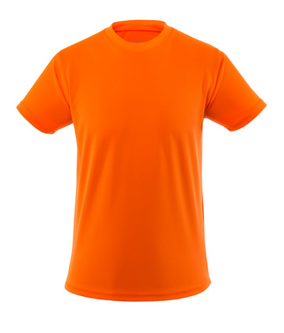 MASCOT® Calais - hi-vis orange - T-shirt, hi-vis, moisture wicking CoolDry, lightweight, modern fit