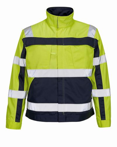 MASCOT® Cameta - hi-vis yellow/navy - Jacket, high durability, class 2