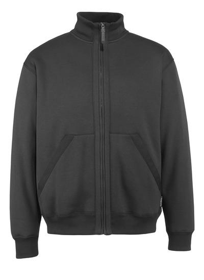 MASCOT® Cannes - black* - Zipped Sweatshirt