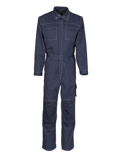 MASCOT® Danville - dark navy - Boilersuit with kneepad pockets, cotton