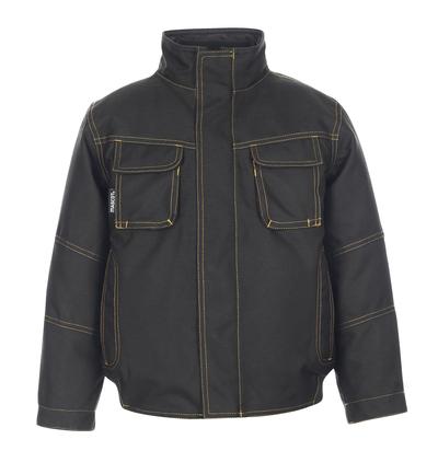 MASCOT® Davis - black* - Winter Jacket for children with quilted lining, waterproof MASCOTEX®