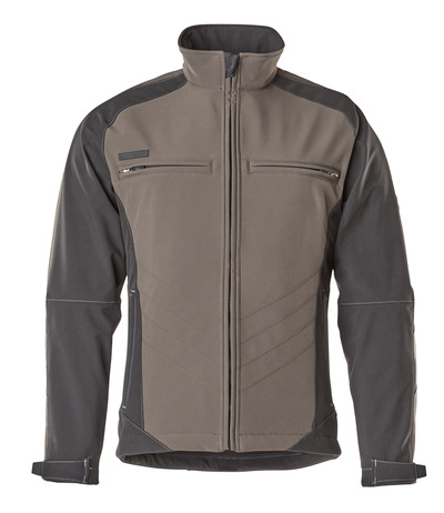 MASCOT® Dresden - dark anthracite/black - Softshell Jacket with fleece on inner side, water-repellent