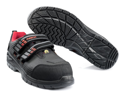 MASCOT® Eagle Lady - black/red* - Safety Sandals