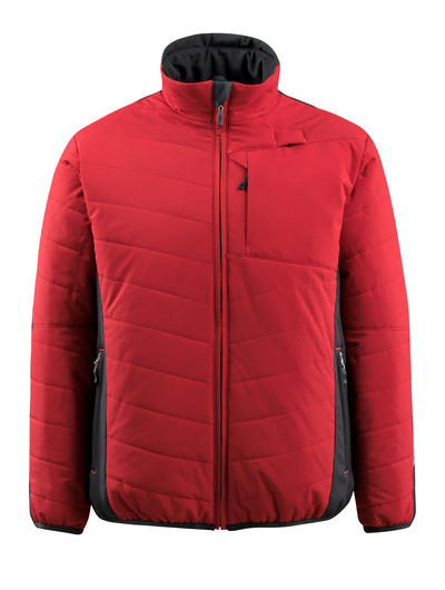 MASCOT® Erding - red/black - Jacket with lining, water-repellent, highly insulating