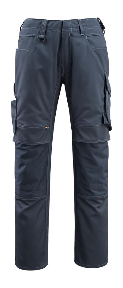 MASCOT® Erlangen - dark navy - Trousers with CORDURA® kneepad pockets, high durability