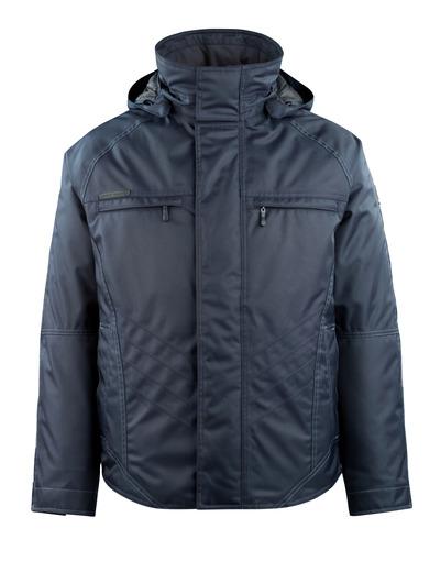 MASCOT® Frankfurt - dark navy - Winter Jacket with quilted fleece lining, waterproof