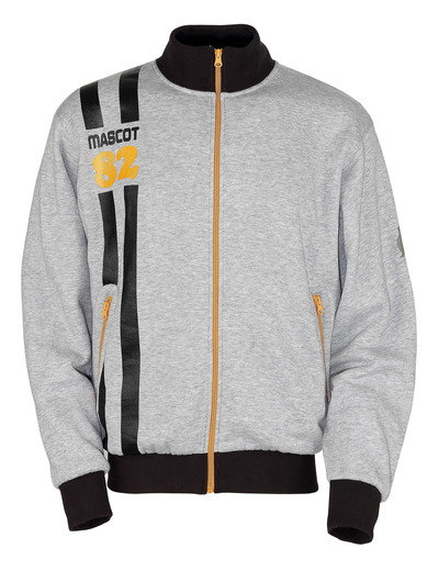 MASCOT® Fundao - grey-flecked* - Sweatshirt with zipper