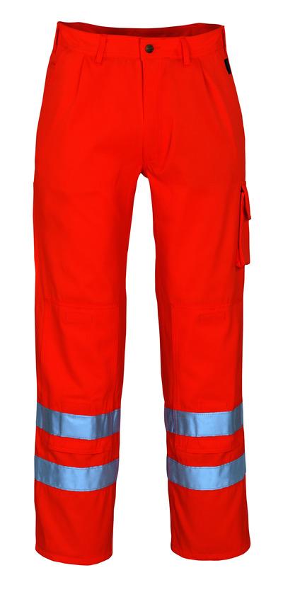 MASCOT® Iowa - hi-vis orange* - Trousers with kneepad pockets