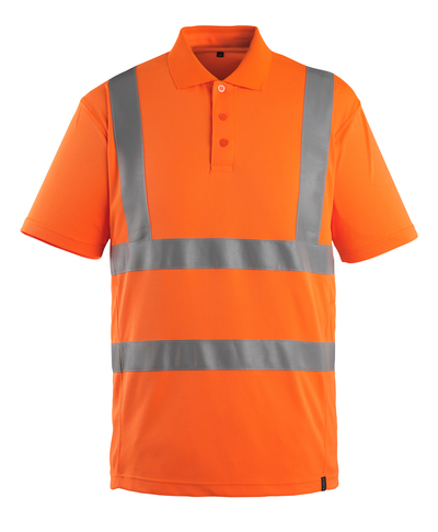 MASCOT® Itabuna - hi-vis orange - Polo Shirt, modern fit, class 2