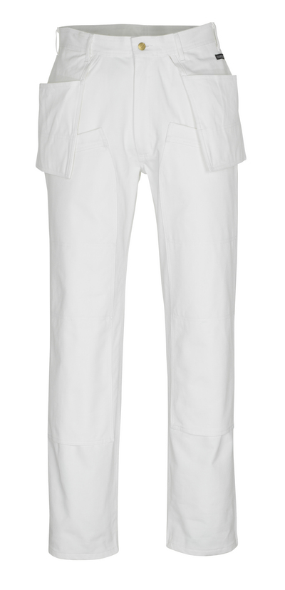 MASCOT® Jackson - white* - Trousers with kneepad pockets and holster pockets