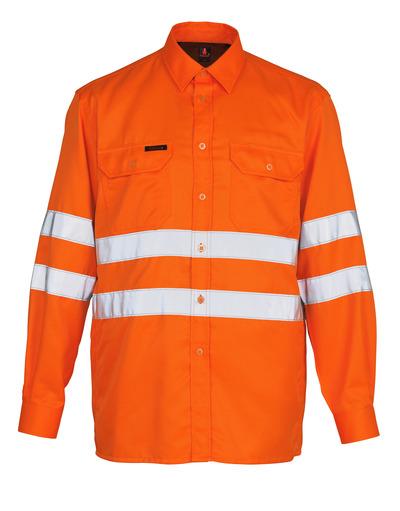 MASCOT® Jona - hi-vis orange - Shirt, classic fit, class 3