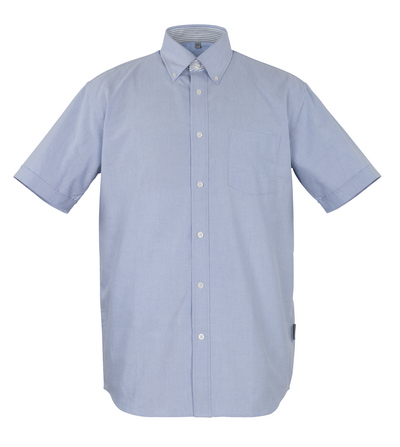 MASCOT® Lamia - oxford blue* - Shirt, short-sleeved