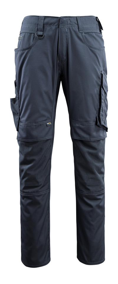 MASCOT® Lemberg - dark navy - Trousers with CORDURA® kneepad pockets, extra lightweight