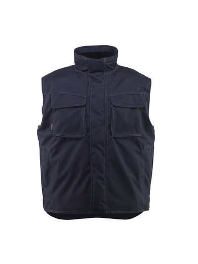 MASCOT® Lexington - dark navy - Winter Gilet with pile lining, water-repellent