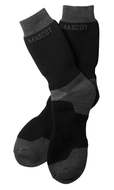 MASCOT® Lubango - black/dark anthracite - Socks