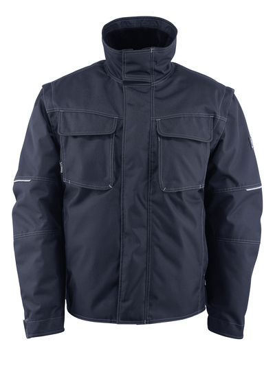 MASCOT® Macon - dark navy - Winter Jacket with detachable pile lining, water-repellent