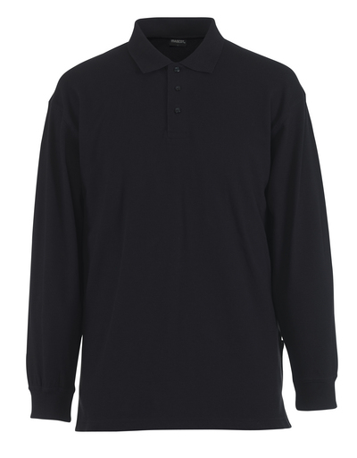 MASCOT® Manila - graphite blue - Polo Shirt, modern fit, long-sleeved