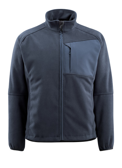 MASCOT® Marburg - dark navy - Fleece Jacket with mesh lining, water-repellent
