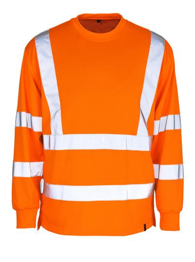 MASCOT® Melita - hi-vis orange - Sweatshirt, classic fit, class 3