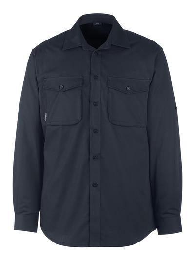 MASCOT® Mesa - dark navy - Shirt, modern fit