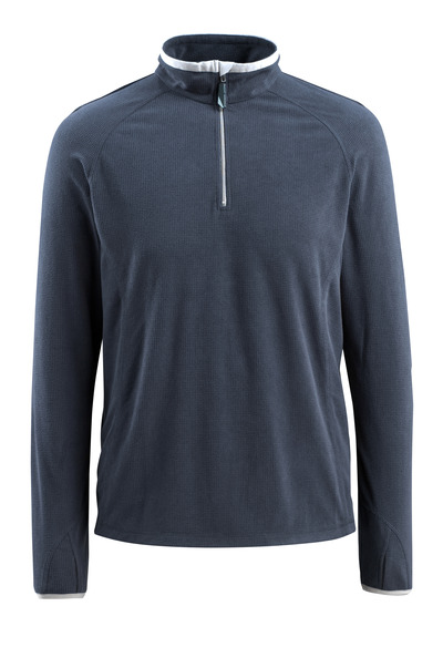 MASCOT® Metz - dark navy - Fleece Jumper with half zip