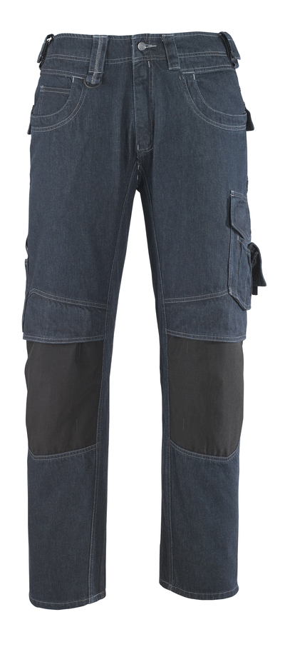 MASCOT® Milton - denim blue* - Jeans with kneepad pockets