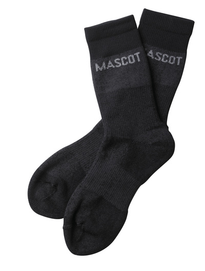 MASCOT® Moshi - dark anthracite-flecked  - Socks, moisture wicking