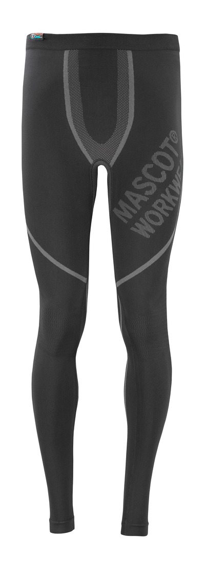 MASCOT® Moss - black - Functional Under Trousers, moisture wicking, insulating