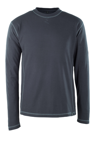 MASCOT® Muri - dark navy - T-shirt, long-sleeved, multi-protective, modern fit