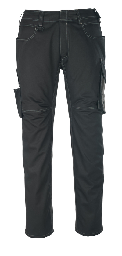 MASCOT® Oldenburg - black/dark anthracite - Trousers