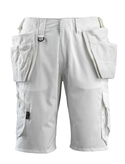 MASCOT® Olot - white - Shorts with CORDURA® holster pockets and stretch inserts