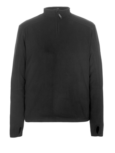MASCOT® Pau - black* - Fleece Jumper with half zip