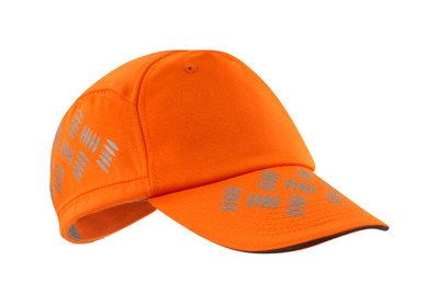 MASCOT® Ripon - hi-vis orange - Cap with ventilated air holes, adjustable, reflectors