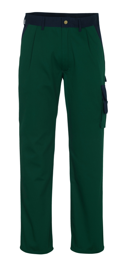 MASCOT® Salerno - green/navy* - Trousers, high durability