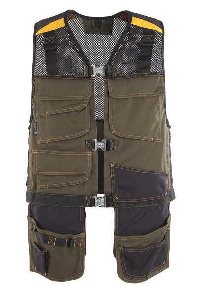 MASCOT® Serpa - dark olive/black* - Tool Vest