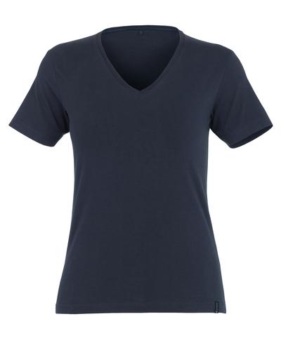MASCOT® Skyros - dark navy* - T-shirt, ladies' fit, V-neck
