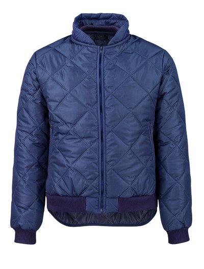MASCOT® Sudbury - navy - Thermal Jacket with front pockets with zippers