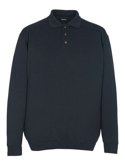 MASCOT® Trinidad - dark navy - Polo Sweatshirt, classic fit