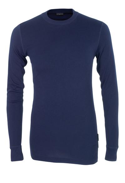 MASCOT® Uppsala - navy - Functional Under Shirt, moisture wicking, insulating