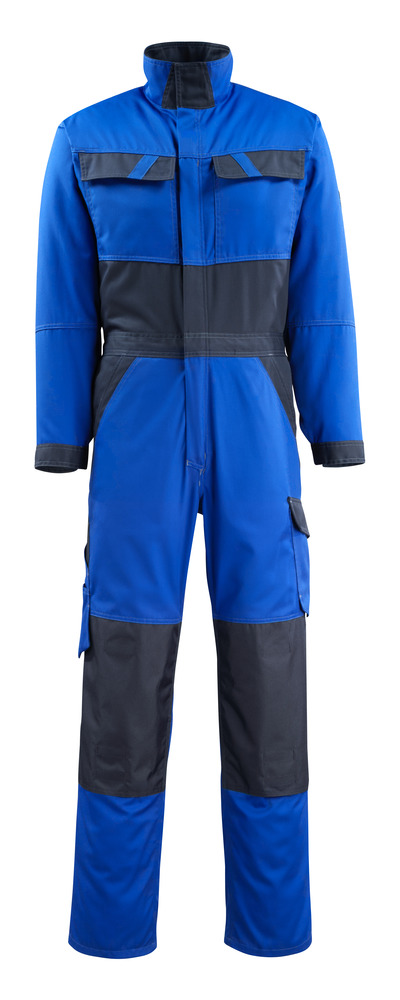 MASCOT® Wallan - royal/dark navy - Boilersuit with kneepad pockets, lightweight